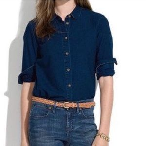 Madewell Indigo Denim Shirt